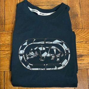 NWT Men's ecko unlimited black & gray short sleeve